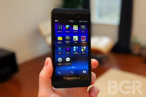 The BlackBerry Z10 Photo: Boy Genius Report
