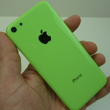 Leaked image of the Apple iPhone 5C.