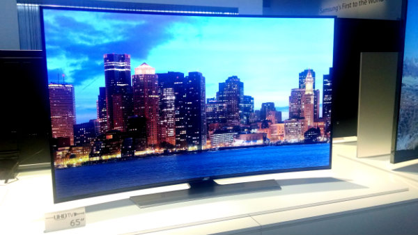 "Samsung 65"" UHD Curved TV"