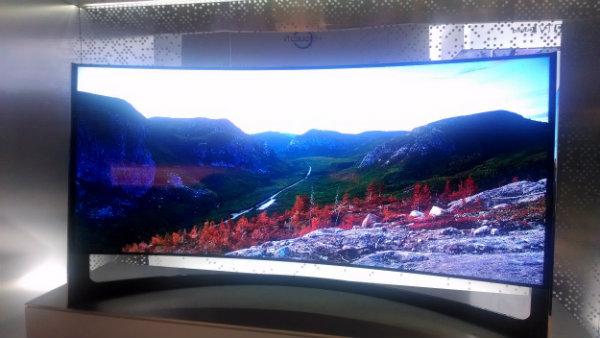 "Samsung 105"" Curved LED TV"