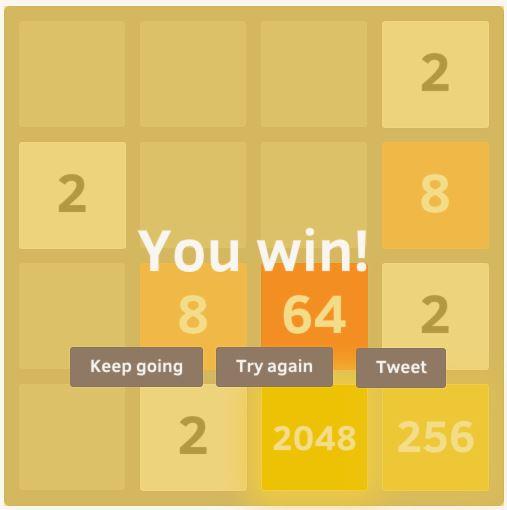 2048 win
