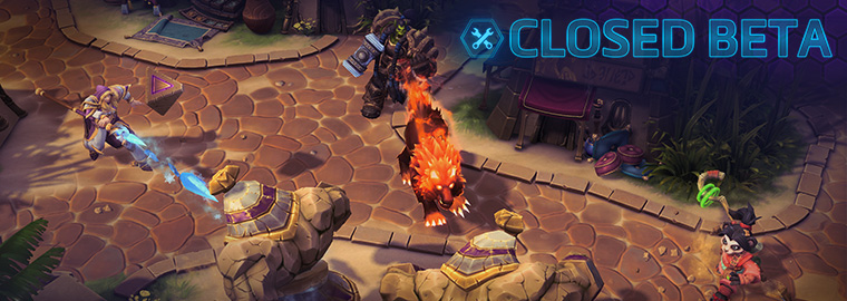 Heroes of the Storm Closed Beta by Blizzard