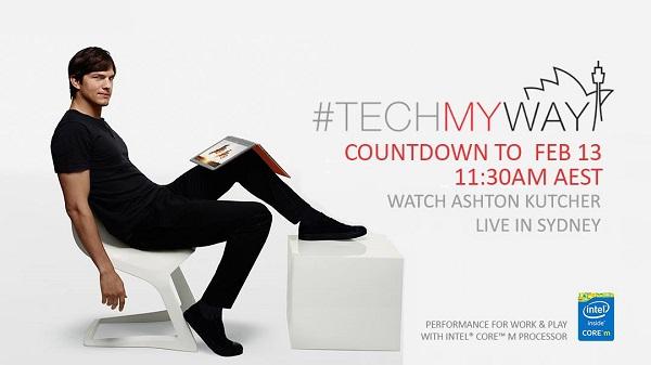 #TECHmyway featuring Ashton Kutcher