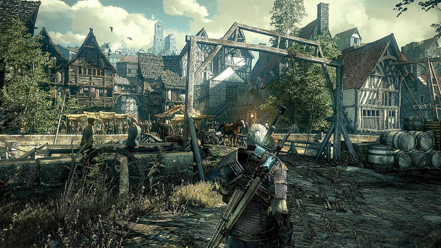 Still from The Witcher 3: Wild Hunt by Bago Games from The Witcher 3: Wild Hunt by Bago Games
