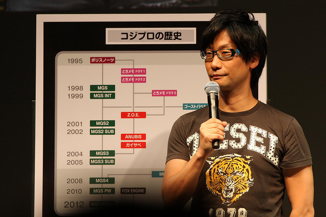 Hideo Kojima discussing company history by Nikita