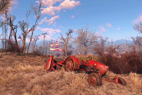 Fallout 4 Tractor