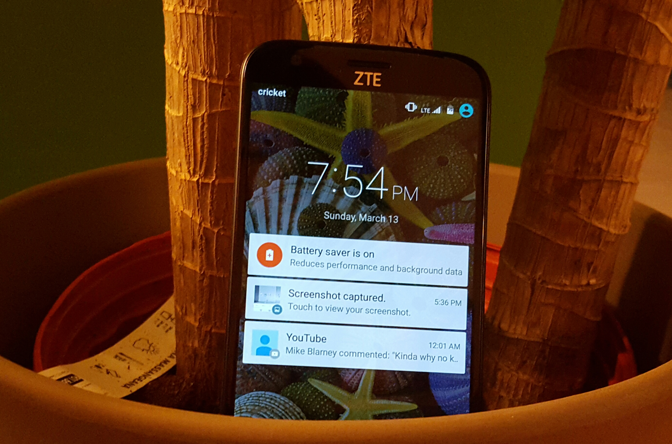 the how to screenshot on zte grand x3 say